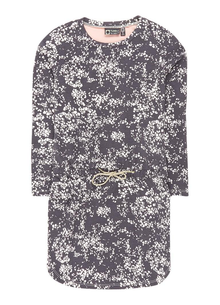 Tumble n Dry Fannie jurk in katoenblend met all-over dessin