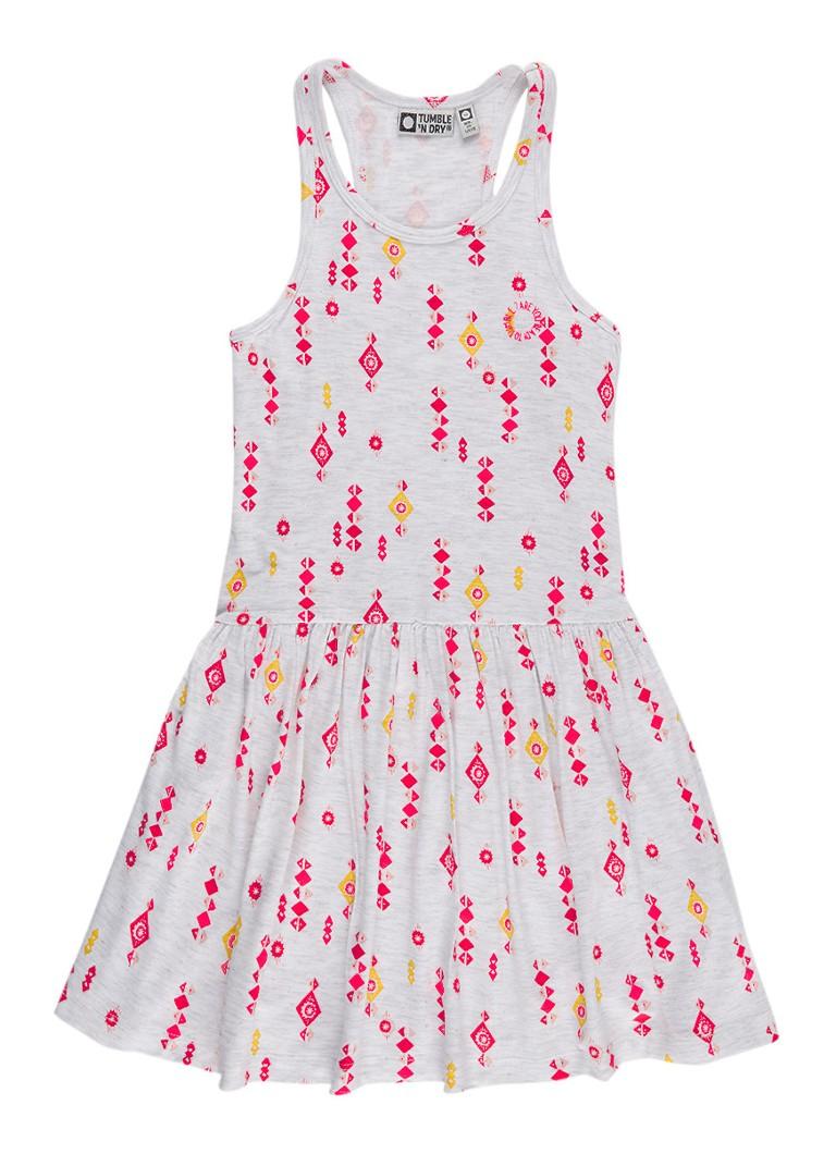 Tumble n Dry Deena A-lijn jurk met grafisch dessin