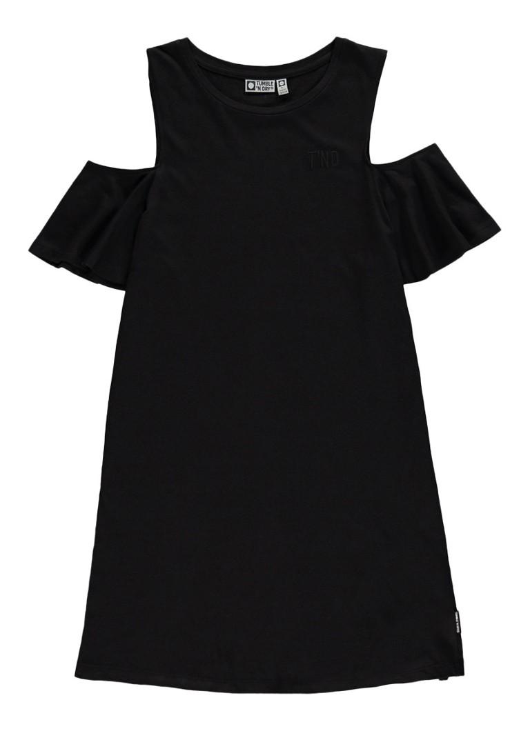 Tumble n Dry Akkie cold shoulder jurk van katoen