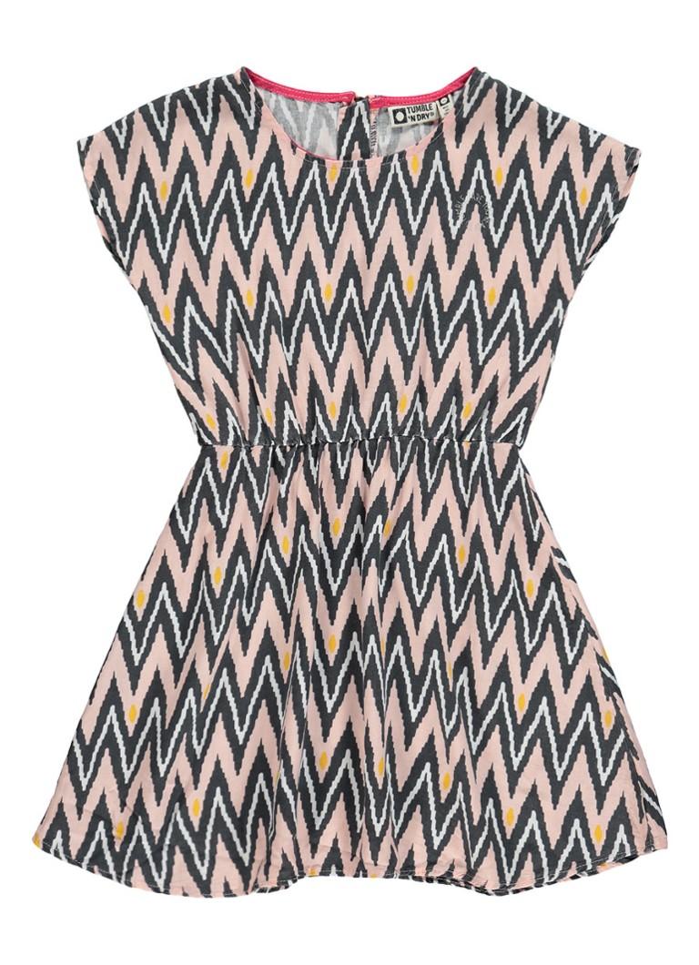 Tumble 'n Dry Dalanae jurk met grafisch dessin