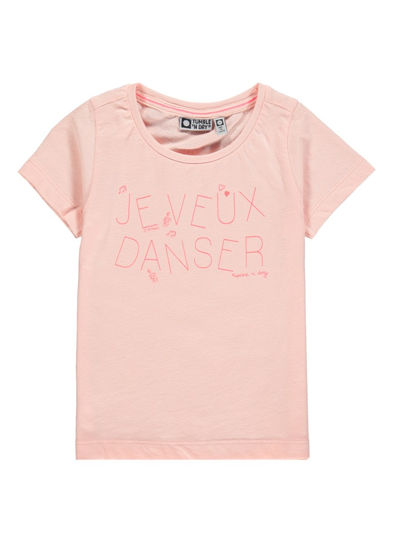 Tumble 'n Dry Dallon T-shirt met tekstopdruk
