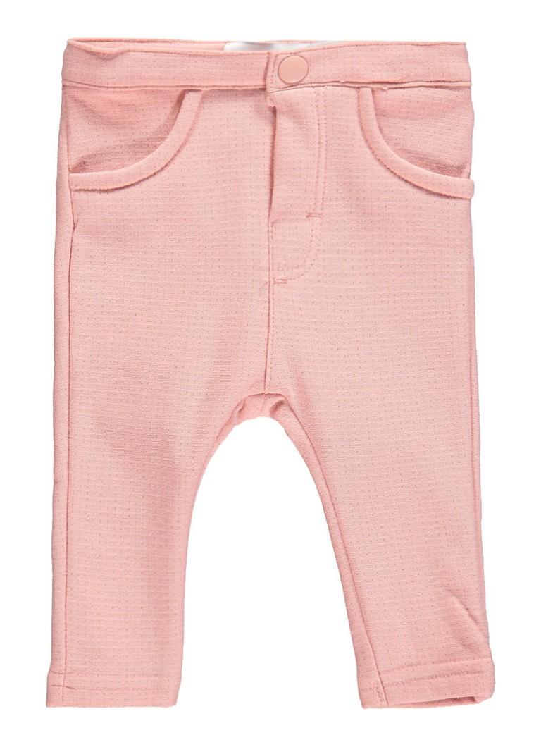 NAME IT Baby Katoenen Glitter Legging Dames Roze