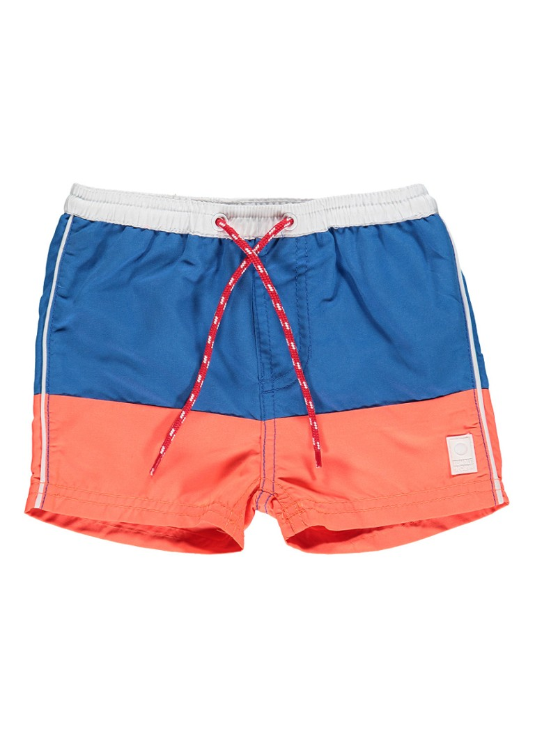 Tumble n Dry Neill zwemshorts met colour blocking