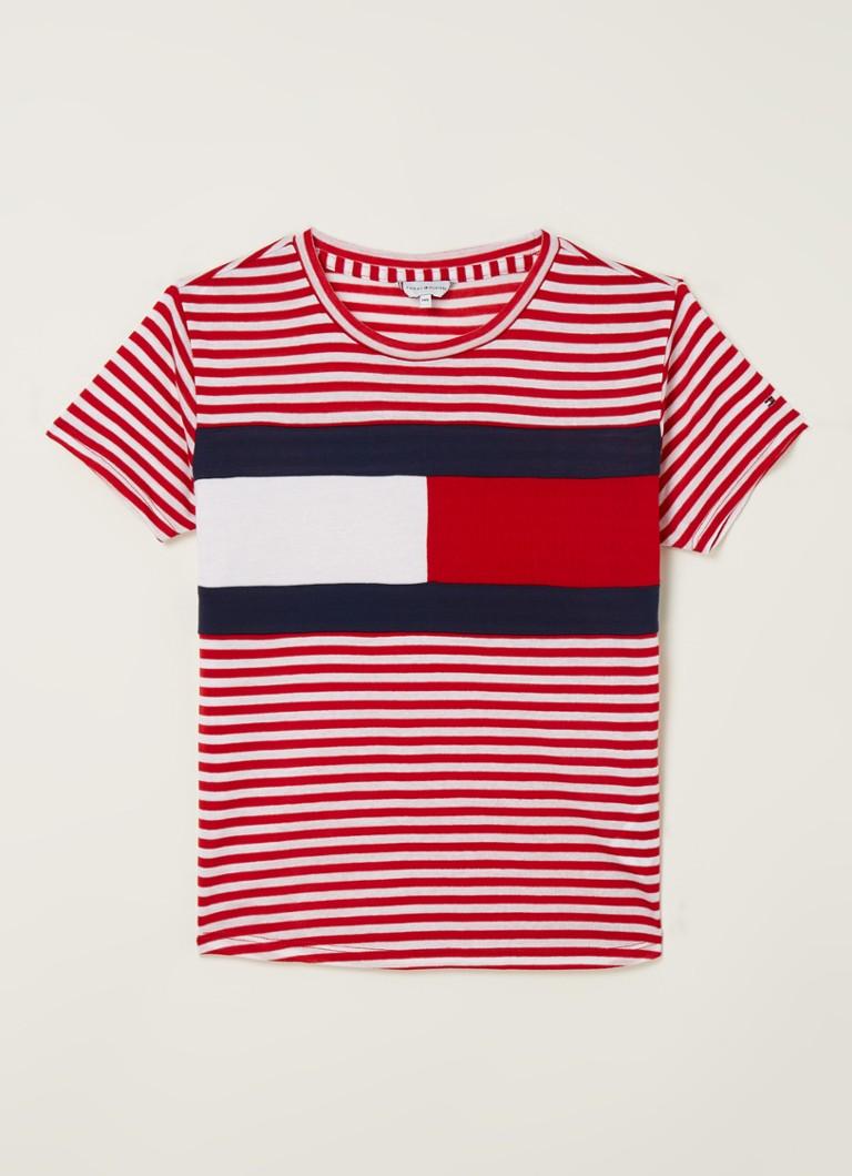 Tommy Hilfiger T-shirt van lyocell met logoprint