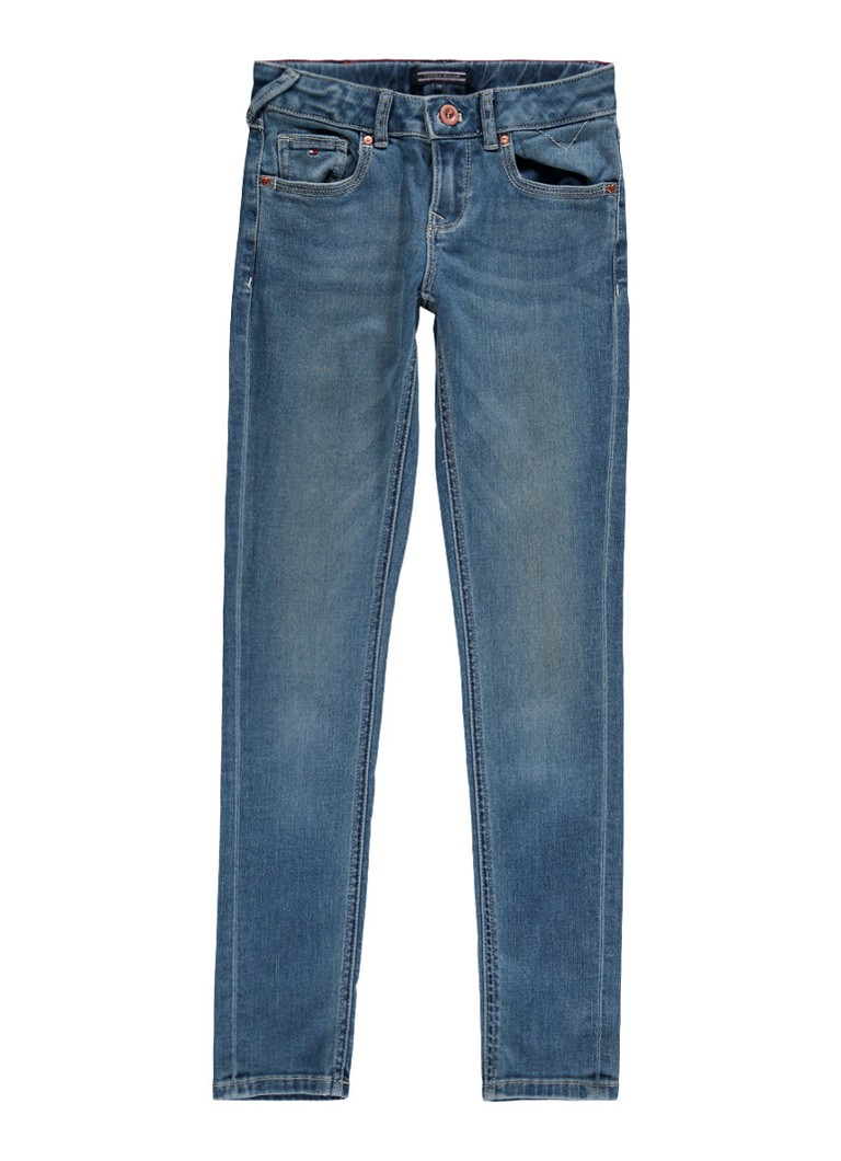 Tommy Hilfiger Sophie skinny fit jeans mid rise met medium wassing