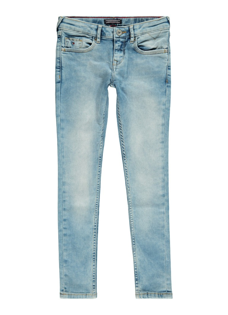 Tommy Hilfiger Sophie low rise skinny fit jeans in lichte wassing