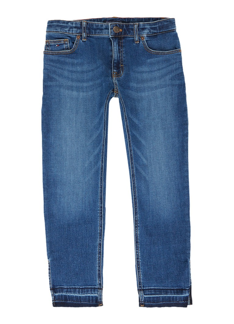 Tommy Hilfiger Straight fit jeans met medium wassing