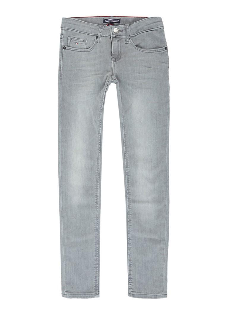 Tommy Hilfiger Skinny fit jeans met lichte wassing