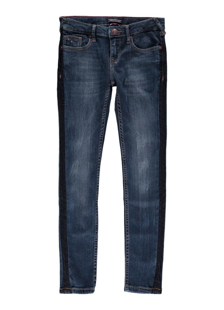Tommy Hilfiger Sophie skinny fit jeans met contratbies