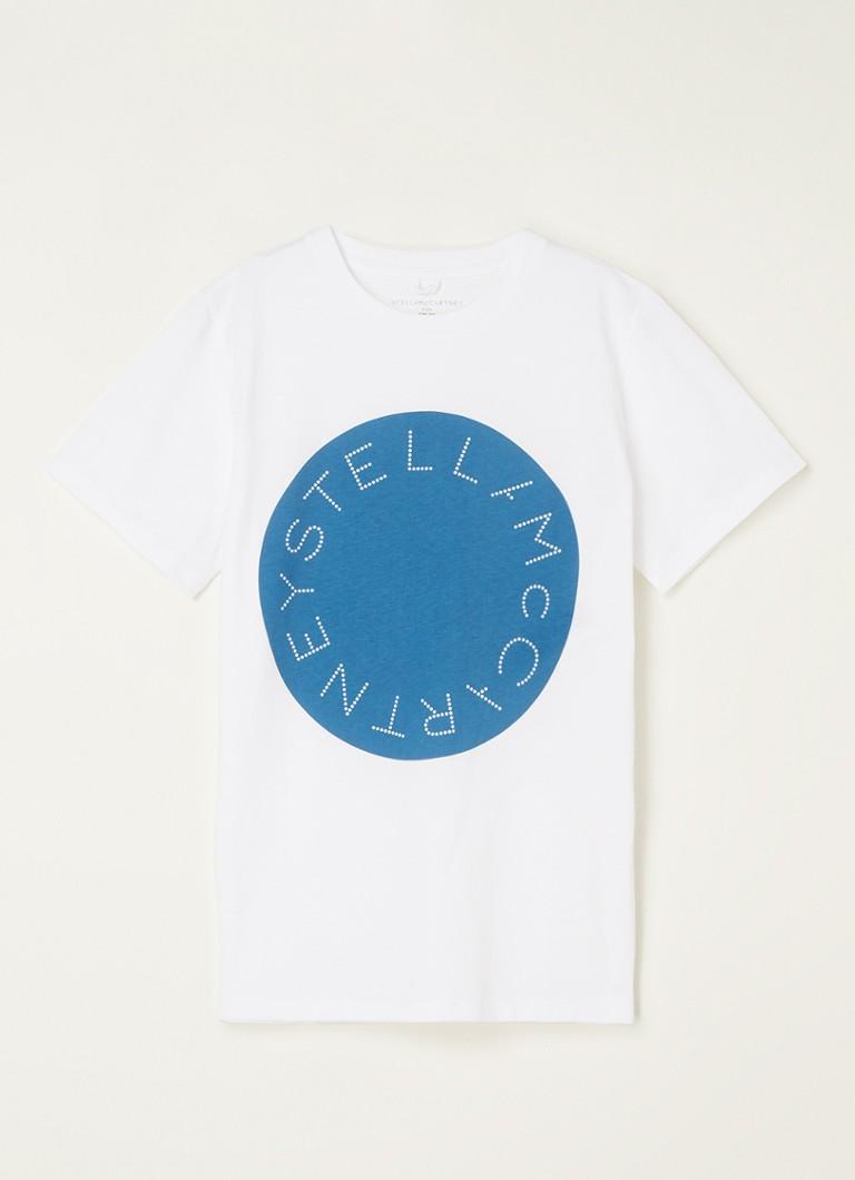 Stella McCartney T-shirt met logoprint