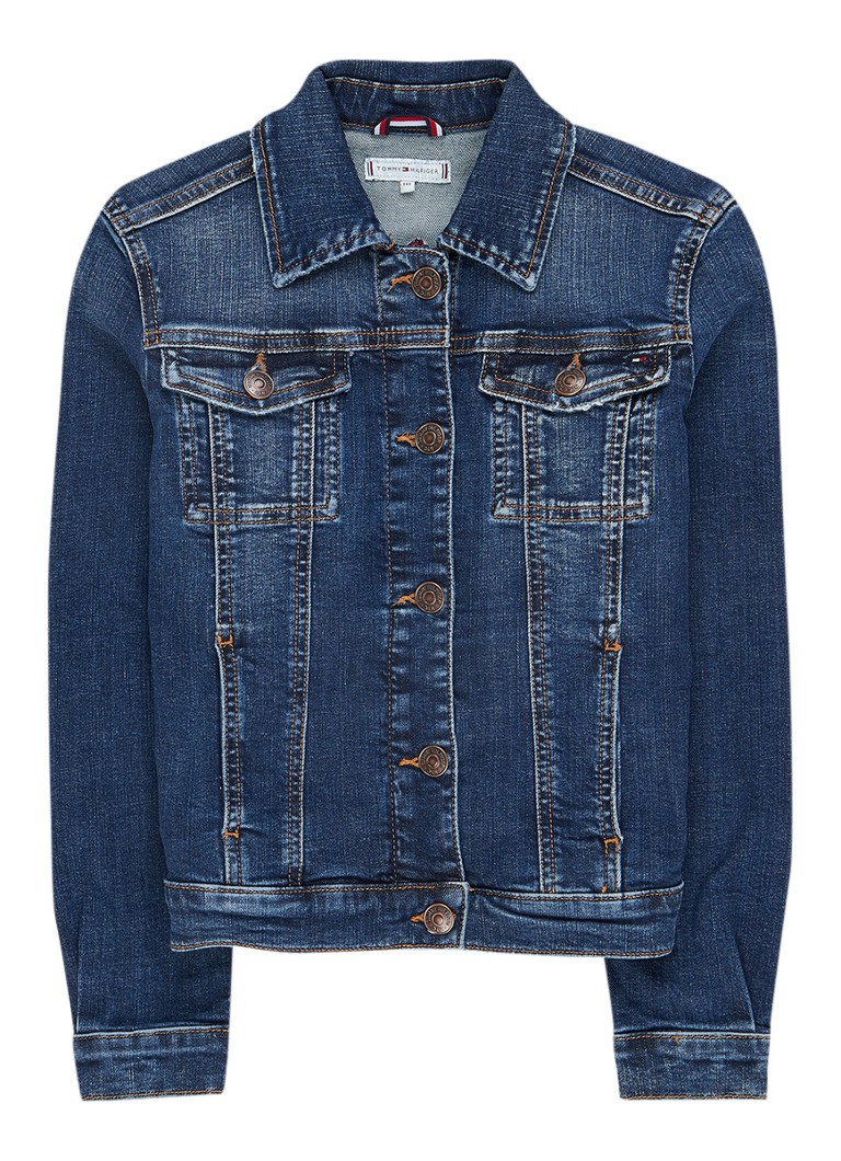 Tommy Hilfiger Trucker jack van denim met stretch