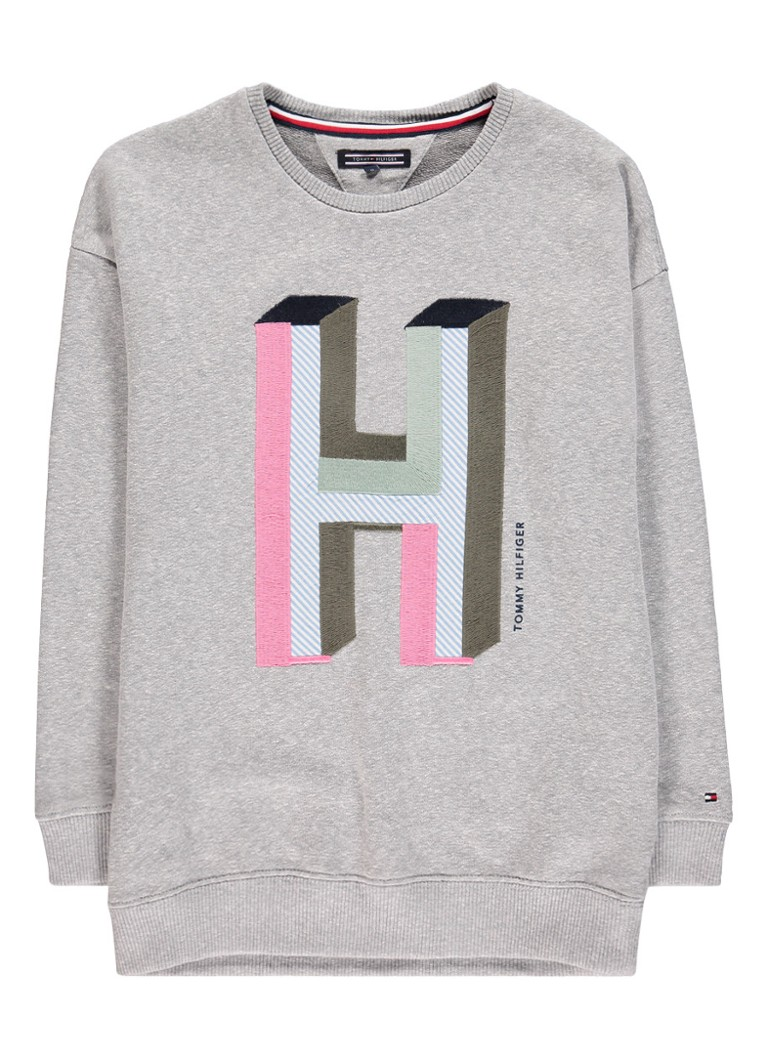 Tommy Hilfiger Sweater met geborduurd logo