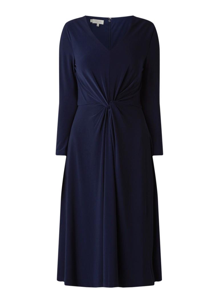 Hobbs Araminta A-lijn jurk met knoopdetail