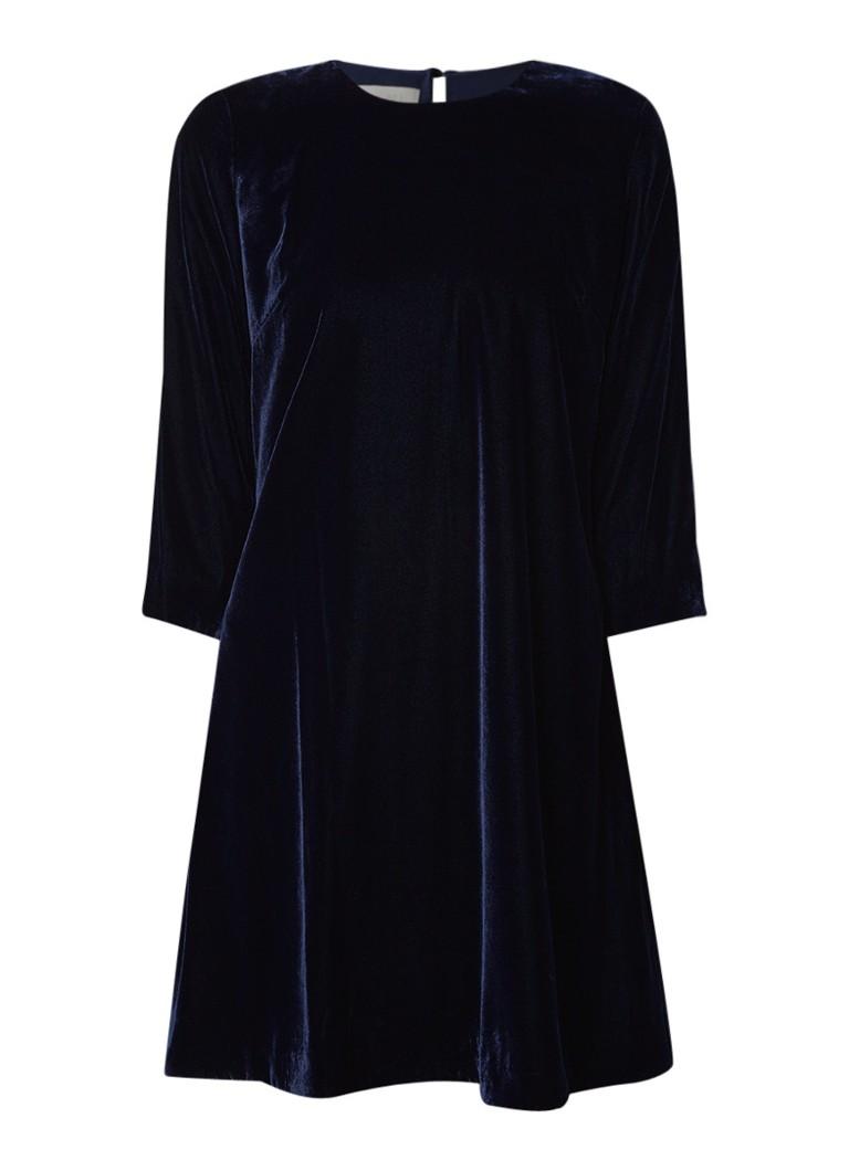 Hobbs Agnes A-lijn jurk van fluweel