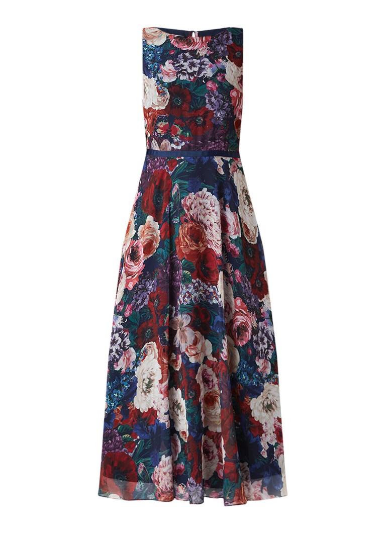 Hobbs Carly mouwloze maxi-jurk met bloemendessin