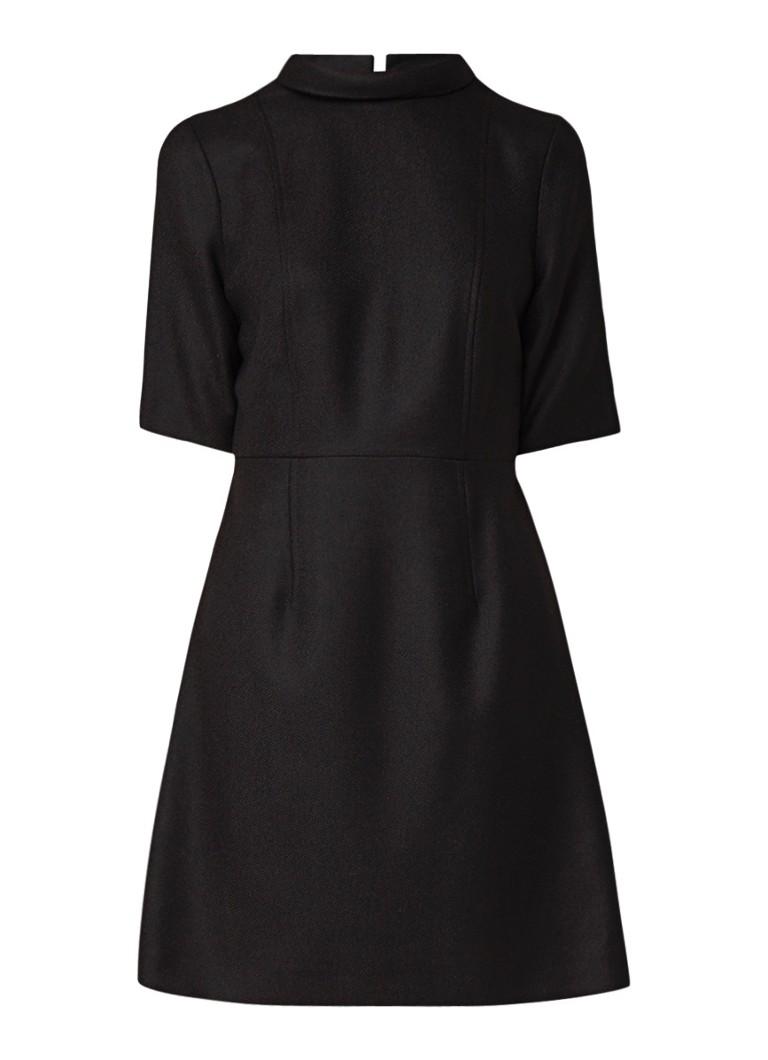 Hobbs Katie A-lijn jurk in wolblend