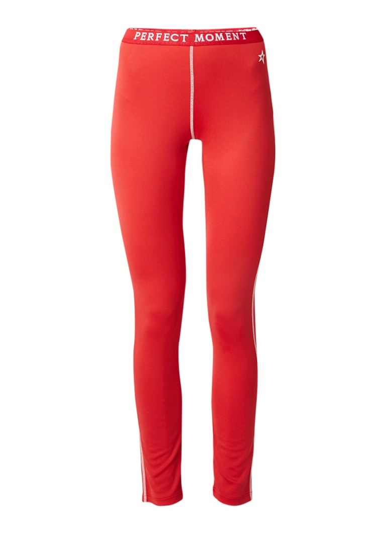 Perfect Moment Thermo legging met logoband
