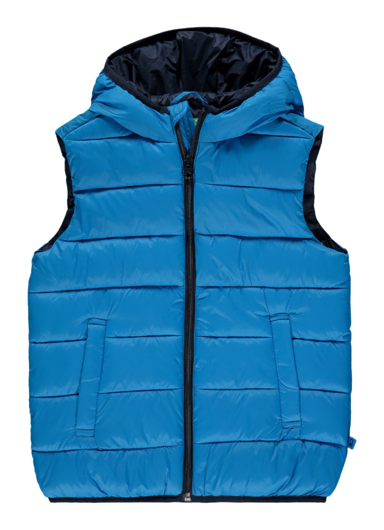 United Colors of Benetton Gewatteerde bodywarmer met capuchon