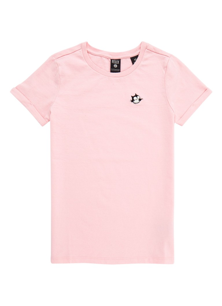 Scotch R'Belle Felix T-shirt met borduring