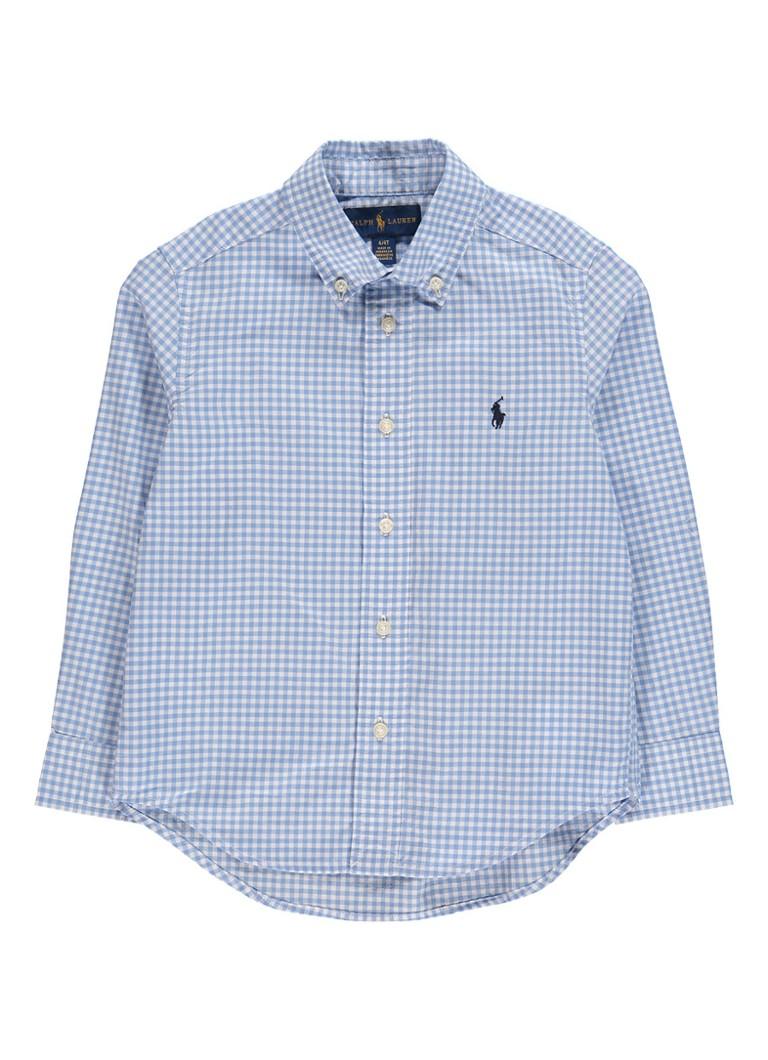 Ralph Lauren Overhemd met ruitdessin