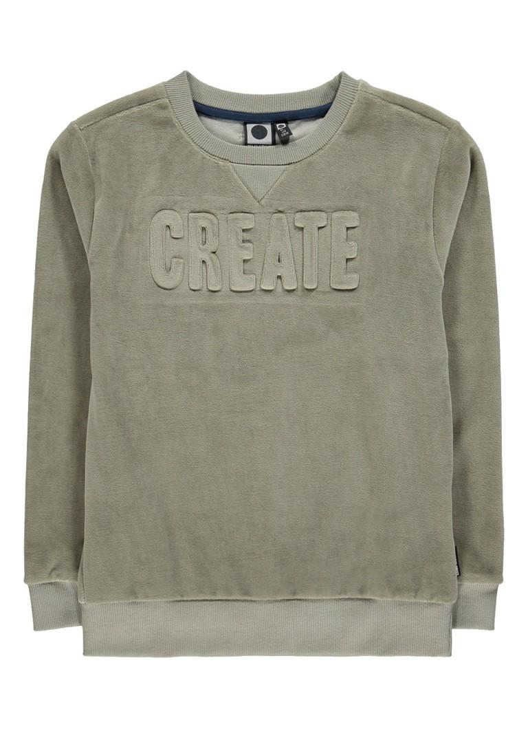 Tumble 'n Dry Luuk sweater met gestanste print
