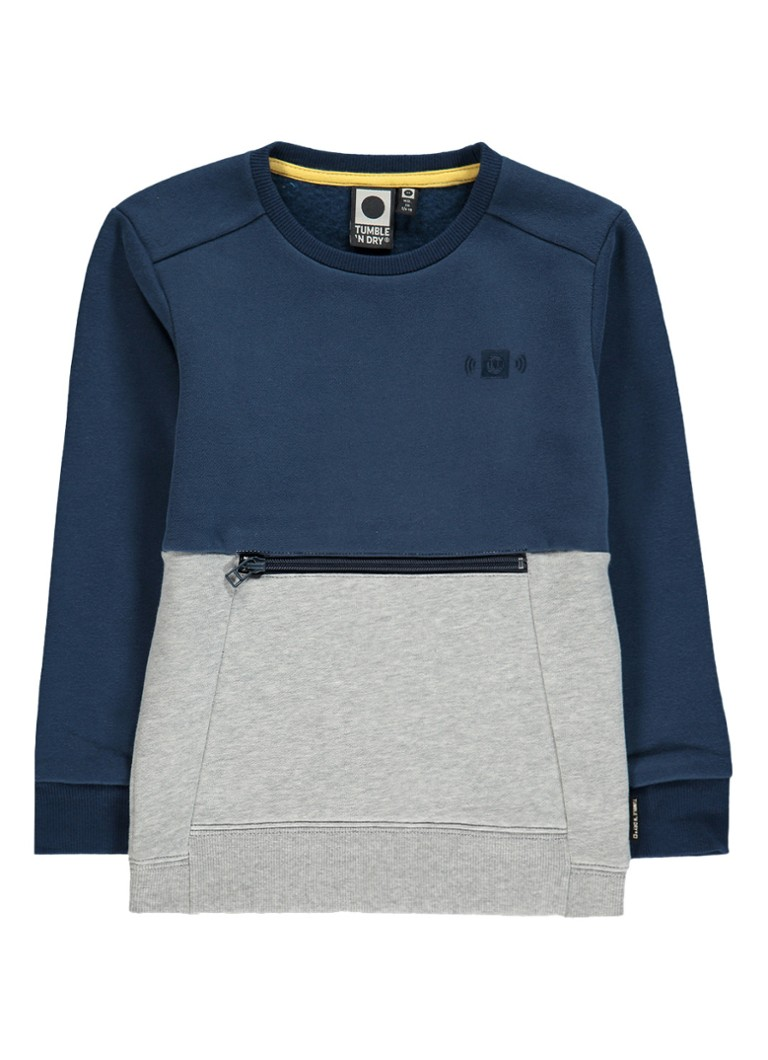 Tumble 'n Dry Macklin sweater met ritsdetail
