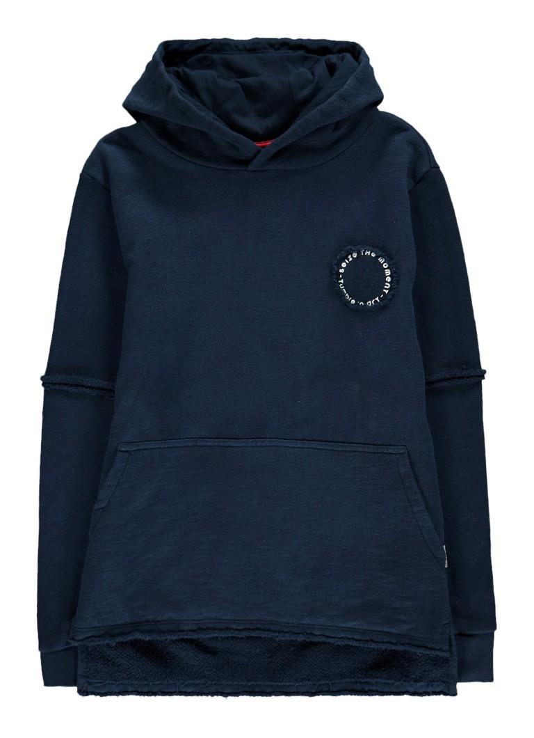 Tumble 'n Dry Luthas hoodie met gerafelde zoom