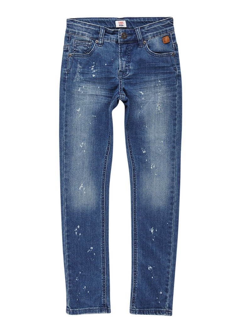 Tumble n Dry Finley slim fit jeans met destroyed details