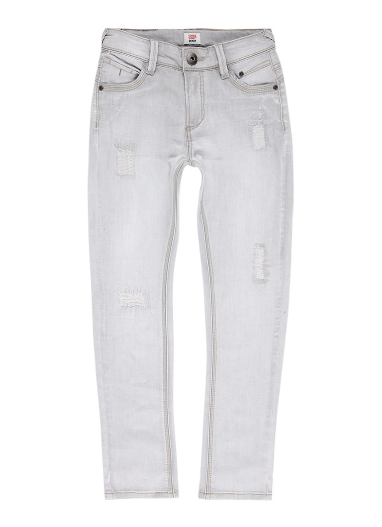Tumble 'n Dry Florenz skinny fit jeans met destroyed details