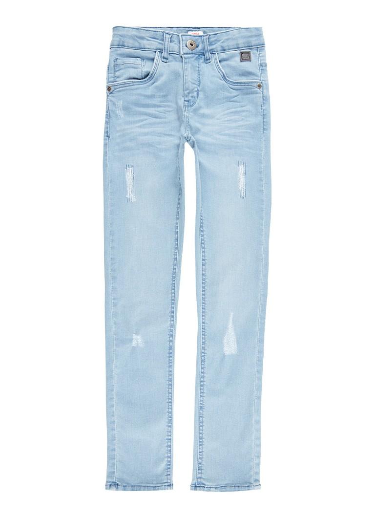 Tumble n Dry Franc extra slim fit jeans met destroyed details