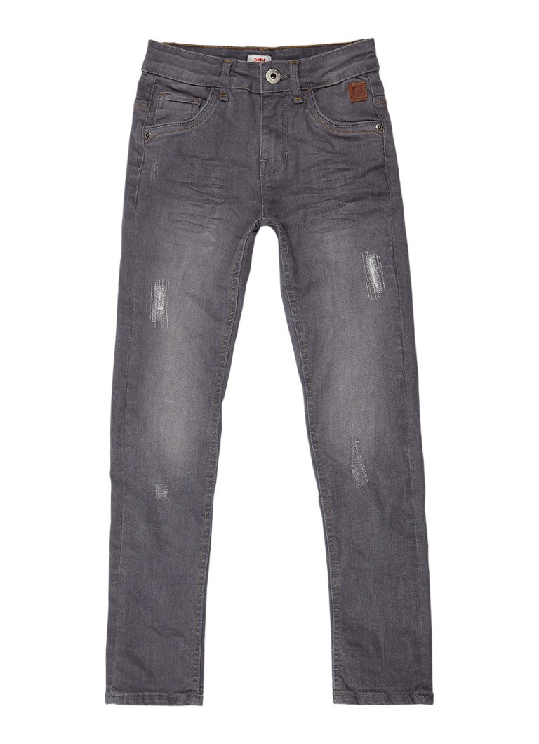Tumble n Dry Franc extra slim fit jeans met ripped details