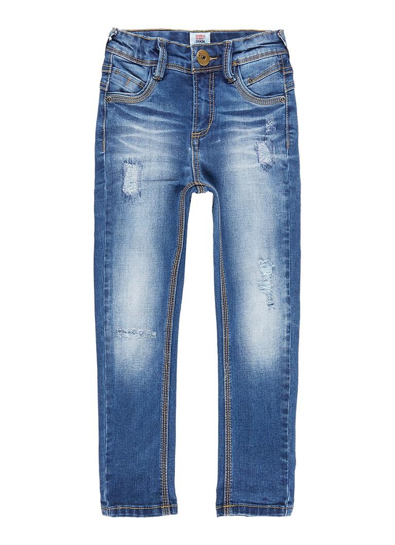 Tumble 'n Dry Florenz slim fit jeans met destroyed details