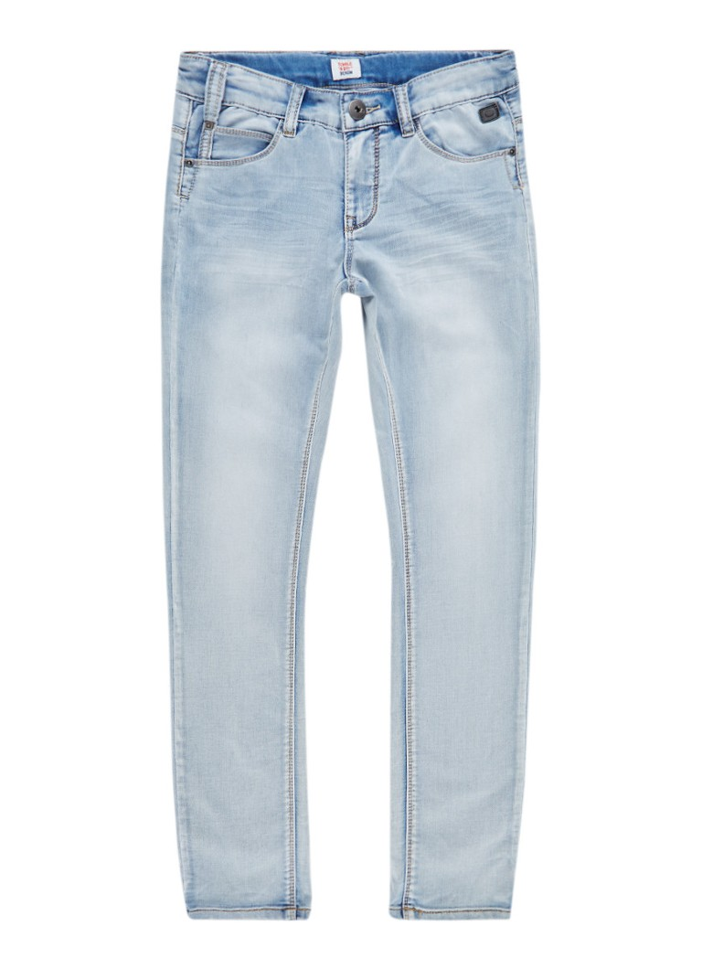 Tumble n Dry Franc extra slim fit jeans met lichte wassing