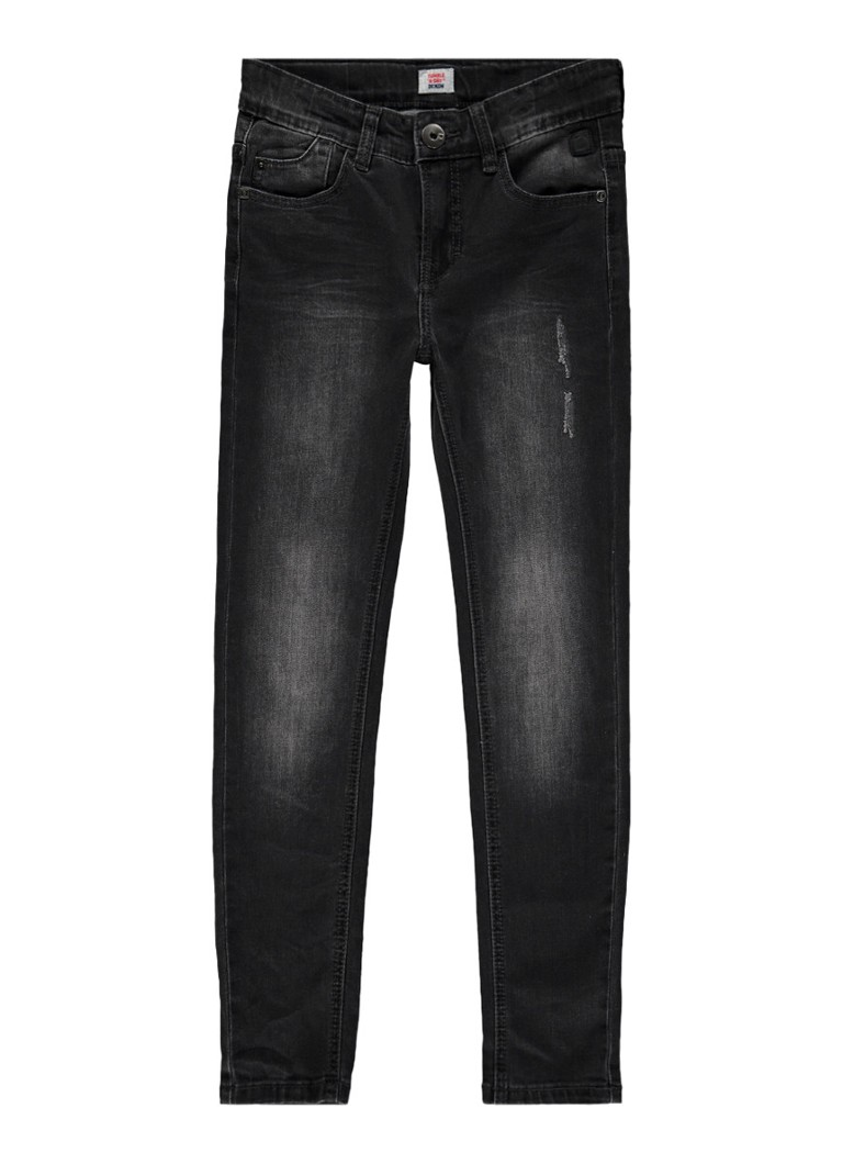 Tumble n Dry Franc extra slim fit jeans met faded look