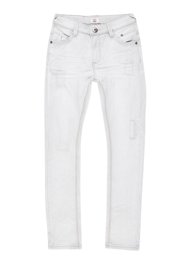 Tumble n Dry Florenz skinny fit jeans met bleached look