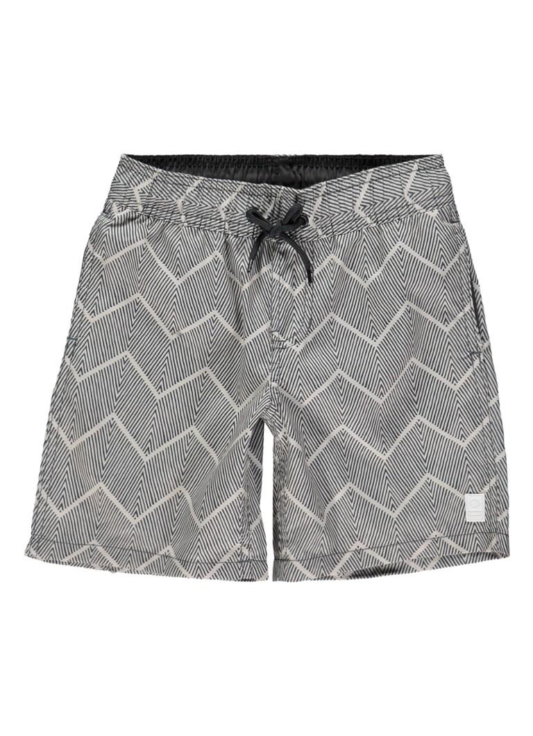Tumble n Dry Leppio zwemshorts met zigzag-dessin