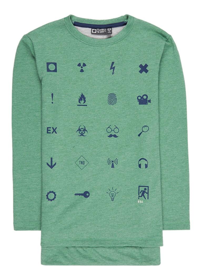 Tumble 'n Dry Mannix sweater met print