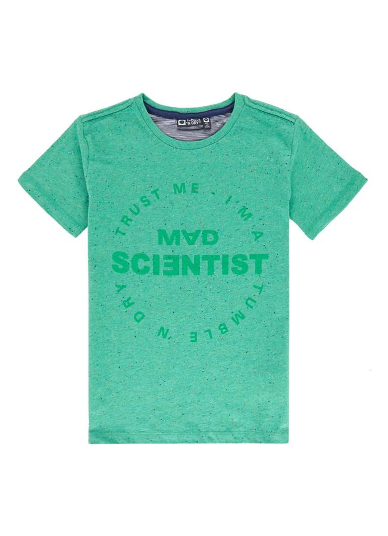 Tumble 'n Dry Marcas gemêleerd T-shirt met tekstopdruk