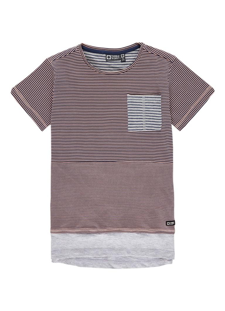 Tumble 'n Dry Marlow T-shirt met streepdessin