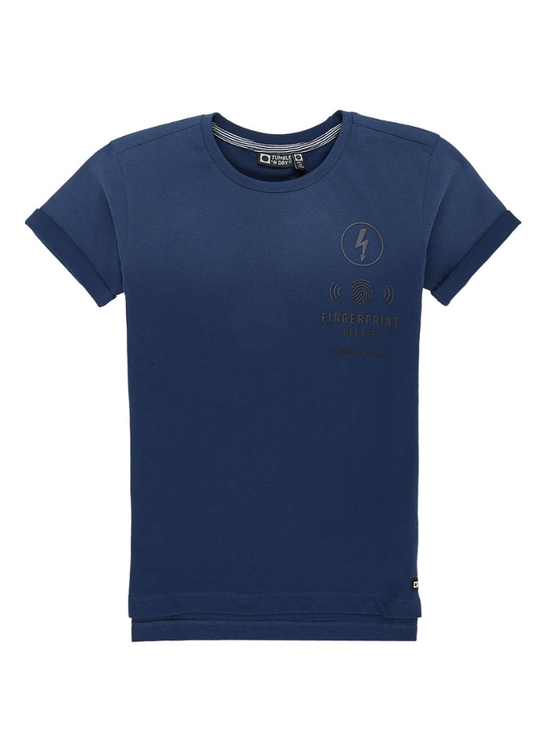 Tumble 'n Dry Manuel T-shirt met omgeslagen mouw