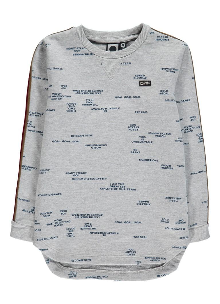 Tumble 'n Dry Milman sweater met contrasterende bies