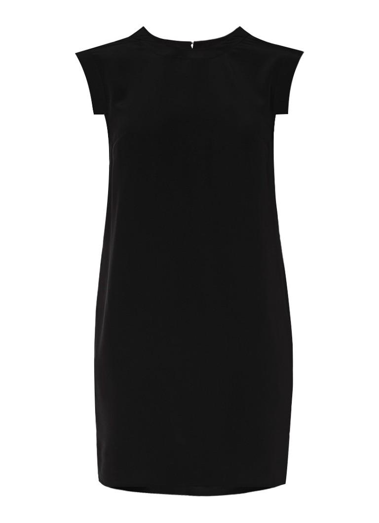 AllSaints Tonya jurk van zijde zwart