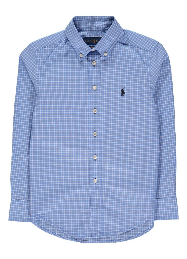 Ralph Lauren Button down-overhemd met ruitdessin