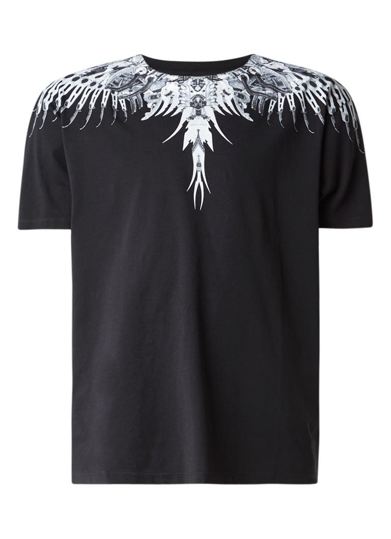 Marcelo Burlon Eruek T-shirt met mechanische print