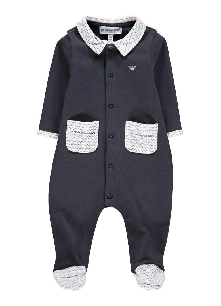 Armani Babypak met opgestikte zakjes