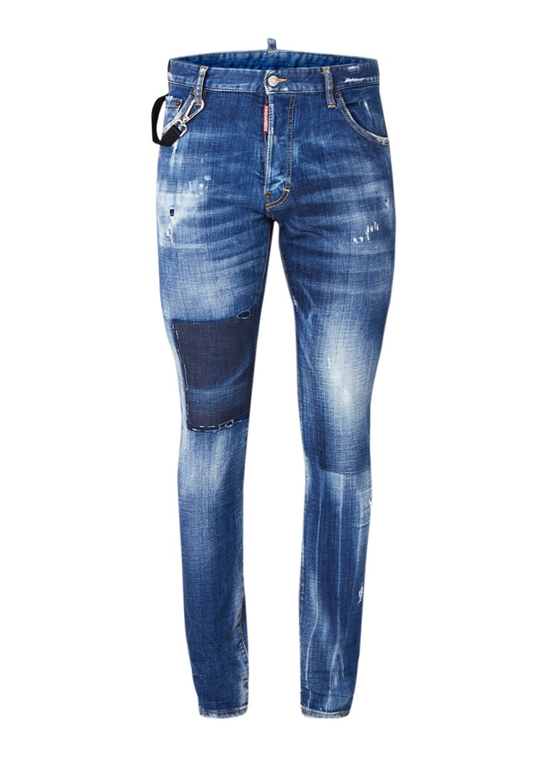 Dsquared2 Cool Guy slim fit jeans met ripped details kopen