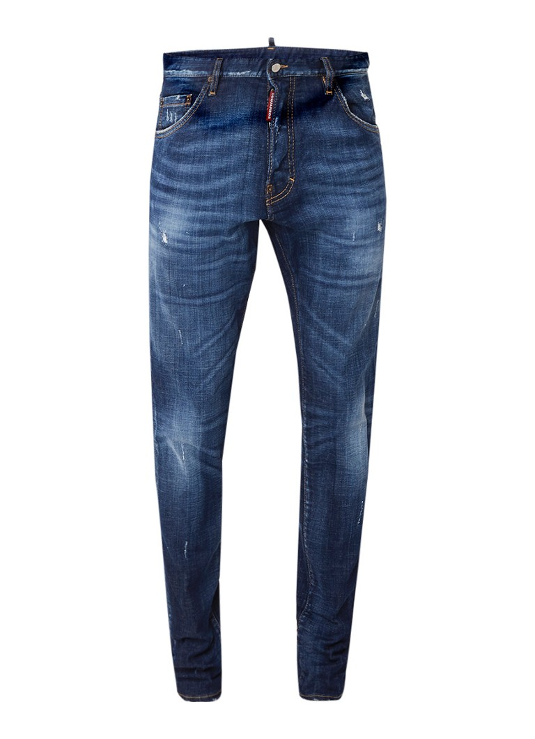 Dsquared2 Cool guy slim fit jeans ripped jeans kopen