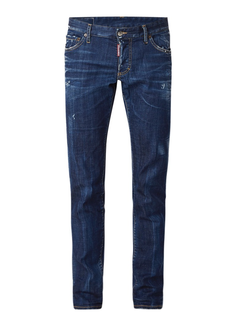 Dsquared2 Low rise slim fit jeans met stretch