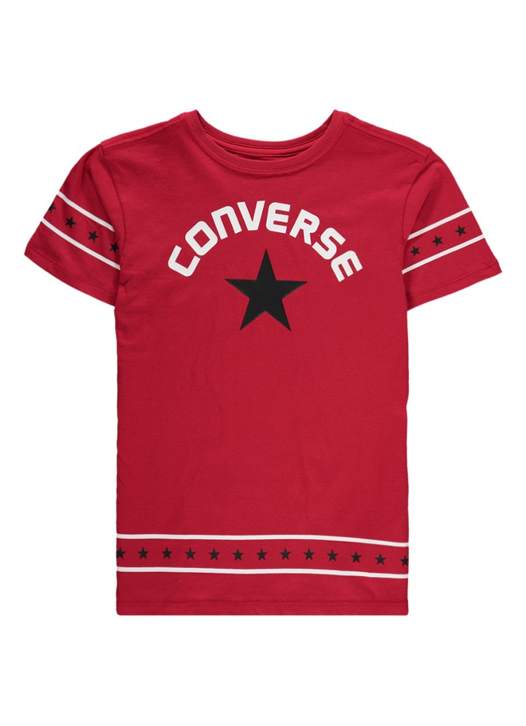 Converse T-shirt met logoprint