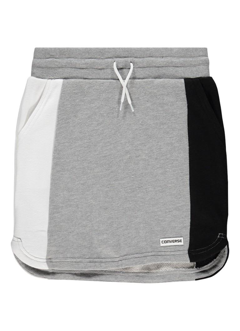 Converse Retro sweaterrok met colour blocking en steekzakken